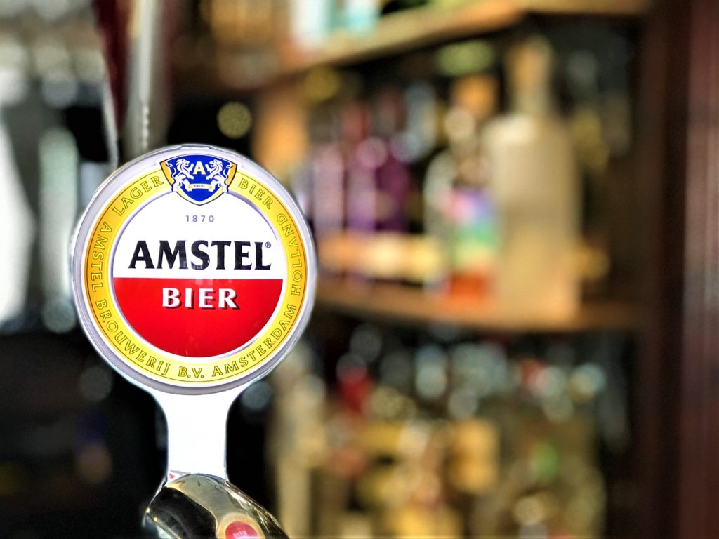 Ring O' Bells Shipley amstel bier font